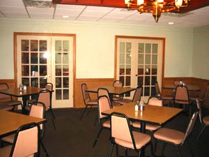 Banquet View of Fireside Dining